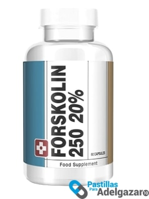 forskolin de 250 mg