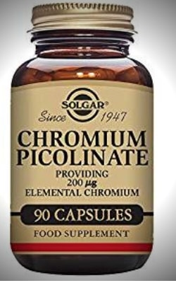 capsulas de picolinato de Cromo